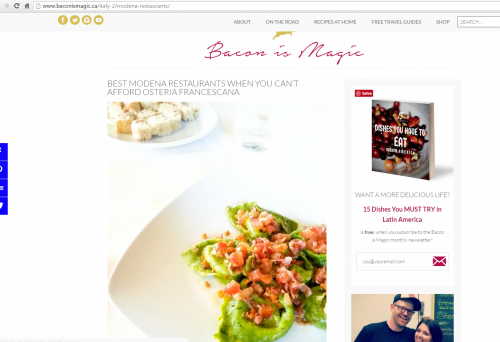 Bacon is magic parla ancora di Modena! | News