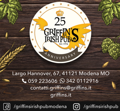 Griffin's Irish Pub | Street Food & Cafè
